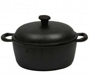 Cocotte en fonte ronde 25 cm 4 litres