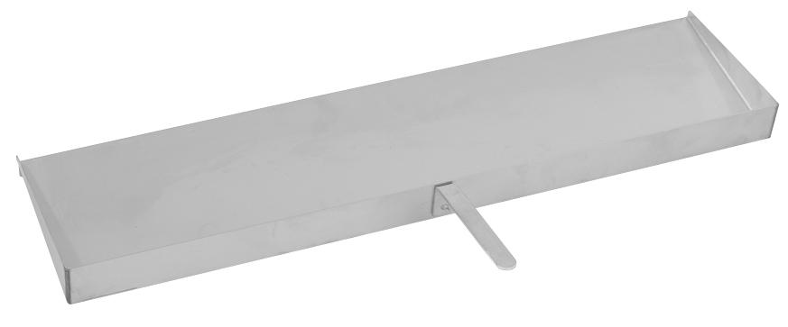 Lèche-frite tout inox 75 cm